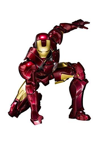 Bandai Tamashii Nations S.H. Figuarts Iron Man Mark 4 and Hall of Armor Set Action Figure