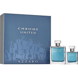 chrome united by azzaro mens fragrance gift set 2pc - Chrome United by Azzaro Men's Fragrance Gift Set - 2pc
