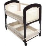 arms reach cambria co sleeper bassinet natural 150x150 - Babyletto Hudson 3-in-1 Convertible Crib with Toddler Rail, White