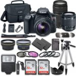 canon eos rebel t6 dslr camera bundle with canon ef s 18 55mm f35 56 is ii 150x150 - Canon T3/T5/T6 & 1100D/1200D/1300D Overview Tutorial