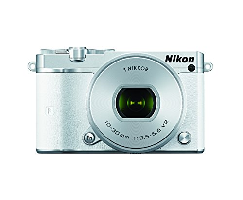 Nikon 1 J5 Mirrorless Digital Camera w/10-30mm PD-ZOOM Lens (White)