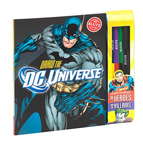 Klutz Draw DC Universe: Learn to Draw The Heroes & The Villains Craft Kit