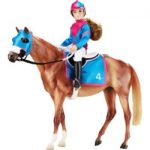 breyer traditional series lets go racing model horse doll multicolor 150x150 - Master Chief Ultra Prestige Halo Microsoft Costume, Large/10-12