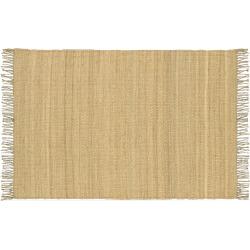"surya jute natural rug 27 x 48 beiggreen beigkhaki - Surya Jute Natural Rug - 27"" x 48"", Beig/Green (Beig/Khaki)"