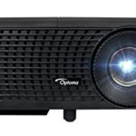 "optoma s341 3500 lumens svga 3d dlp projector with superior lamp life and hdmi 150x150 - Projector, WiMiUS T4 3500 Lumens 5.8 Inch LCD Projector Support 200"" Display Full HD 1080P 50,000 hours LED Video Projector, Compatible with Amazon Fire TV Stick, HDMI, VGA, USB for Home Theater-White"