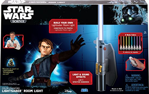 Star Wars Science Multicolor Lightsaber Room Light – Uncle Milton