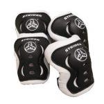 "strider knee and elbow pad set for safe riding black 150x150 - Diamondback Bicycles Cobra 20 Youth 20"" Wheel Mountain Bike, Orange"