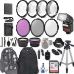 58mm 28 pc accessory kit for canon eos rebel t6 t5 t3 1300d 1200d 1100d 150x150 - Canon EOS Rebel T6 a Scam? My Review