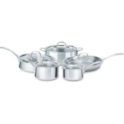 Calphalon Tri-Ply 10-pc. Stainless Steel Cookware Set, Multicolor