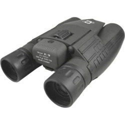 Cassini 8 x 32mm Day and Night Green Laser Binoculars with Case, Grey