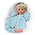 sweetly snuggled sarah so truly real lifelike realistic weighted newborn 150x150 - KidKraft So Chic Dollhouse with Furniture