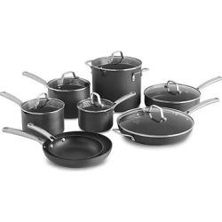 Calphalon Classic Nonstick 14pc Cookware Set, White