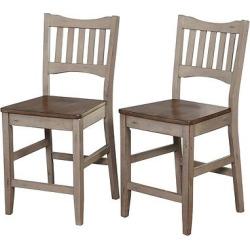 simon 24 stool set of 2 gray target marketing systems - Simon 24 Stool (Set Of 2) - Gray - Target Marketing Systems