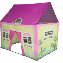Pacific Play Tents Cottage Playhouse Tent, Multicolor