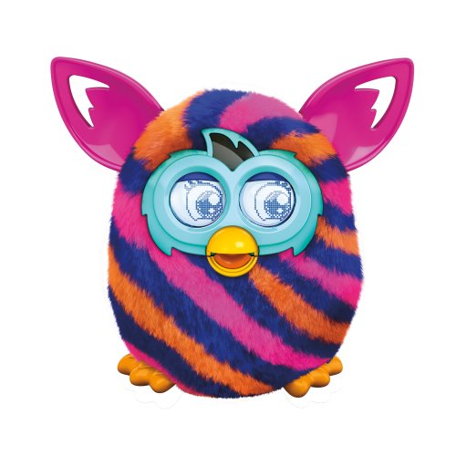 furby diagonal stripes boom plush toy - Furby Diagonal Stripes Boom Plush Toy
