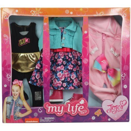 my life as day in the life jojo siwa clothing set for 18in doll doll sold - My Life As Day in the Life JOJO SIWA Clothing Set for 18in Doll (Doll sold separately)