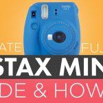 how-to-use-fujifilm-instax-mini-9-camera