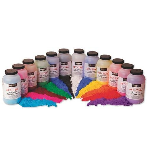 1-lb. Powder Tempera Paint (pack of 12)