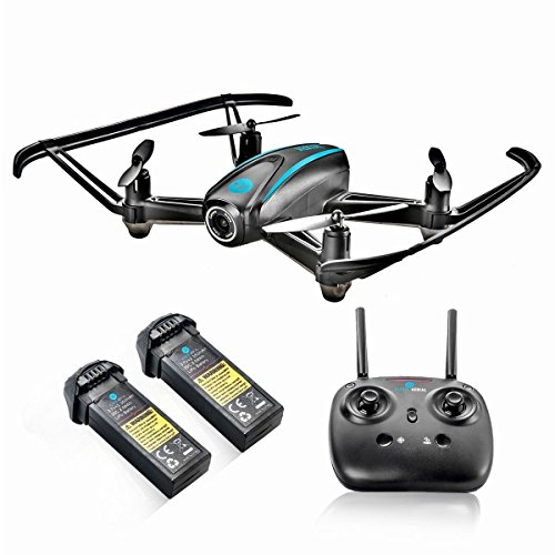 Altair #AA108 Camera Drone, RC Quadcopter w/ 720p HD FPV Camera VR, Headless Mode, Altitude Hold, 3 Skill Modes, Great for Kids & Beginners, Easy Fly Indoor Drone, 2 Batteries