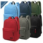 bulk backpacks 6 assorted colors 165 inch childrens school bookbags case 150x150 - Novogratz Bushwick Metal Bed, Modern Design, Full Size - Black