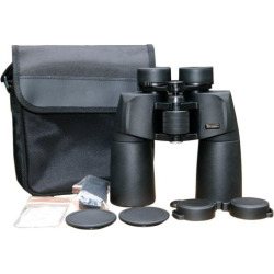 Cassini 12 x 50mm Waterproof Nitrogen Purged Binoculars, Black