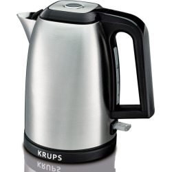 Krups Savoy Stainless Steel Manual Kettle, Multicolor