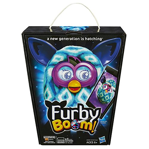 furby boom blue diamonds plush toy - Furby Boom Blue Diamonds Plush Toy