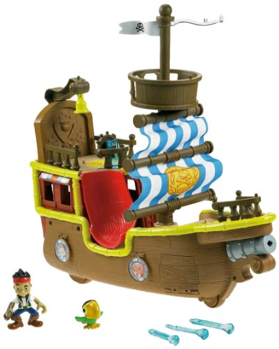 Fisher-Price Disney's Jake and The Never Land Pirates – Jake's Musical Pirate Ship Bucky [Amazon Exclusive]