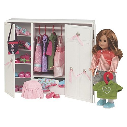 our generation dolls wooden wardrobe doll 18 - Our Generation Dolls Wooden Wardrobe Doll, 18""