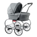 classic bassinet doll stroller by valco baby grey marle 150x150 - Haba Sisters 12-in. Lennja & 8-in. Elin Dolls, Multicolor