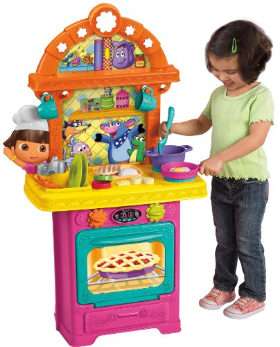 Nickelodeon Fisher-Price Dora the Explorer: Sizzling Surprises Kitchen