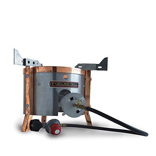 Edelmetall Brü Burner – Outdoor Propane Burner Designed Specifically for Home Brewing Beer