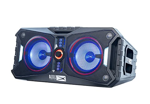 altec lansing alp xp800 xpedition 8 portable waterproof wireless bluetooth - Altec Lansing ALP-XP800 XPEDITION 8 Portable Waterproof Wireless Bluetooth Indoor or Outdoor Speaker with Multi-Colored LED Light Show, Stereo Pairing, Everything Proof