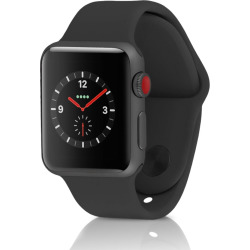 Apple Watch Series 3 Sport 42MM GPS + 4G Aluminum Space Gray Case – Black (Pre-Owned)
