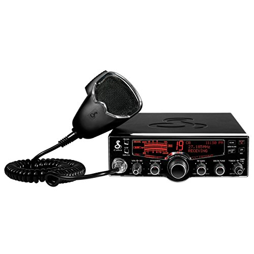 Cobra 29 LX 40 Channel CB Radio w/Emergency Weather Alerts, 4 Color Display Options, Dimmable for Night and Radio Check Diagnostics for Battery Voltage, RF Power and SWR Status