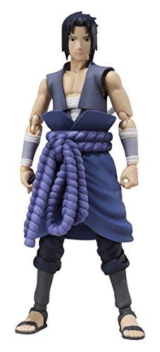 Bandai Tamashii Nations Naruto Shippuden Sasuke Uchiha S.H. Figuarts Action Figure (Itachi Battle)