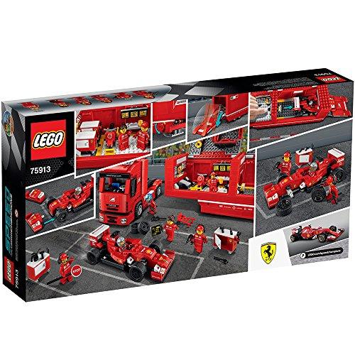 lego speed champions f14 t scuderia ferrari truck 75913 - LEGO Speed Champions F14 T & Scuderia Ferrari Truck 75913