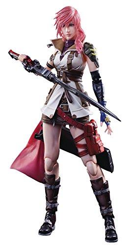 square enix dissidia final fantasy lightning play arts kai action figure - Square Enix Dissidia Final Fantasy: Lightning Play Arts Kai Action Figure