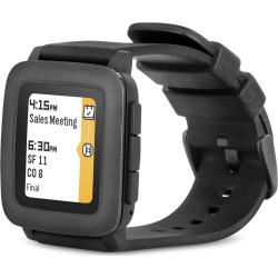 pebble time smartwatch black refurbished - Pebble Time Smartwatch - Black (Refurbished)