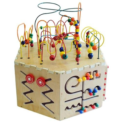 anatex six sided play cube activity center - Anatex Six-Sided Play Cube Activity Center