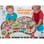 alex jr sound and play busy table activity center multicolor 150x150 - Anatex Six-Sided Play Cube Activity Center