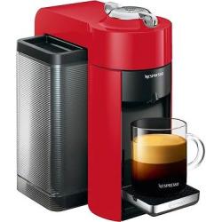 nespresso vertuo coffee and espresso machine by delonghi red - Nespresso Vertuo Coffee and Espresso Machine by De'Longhi, Red