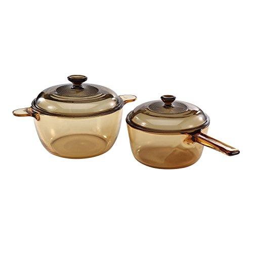 visions 4 pc cookware set - VISIONS 4-pc Cookware Set