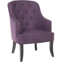 sophia upholstered chair plum purple christopher knight home - Sophia Upholstered Chair - Plum (Purple) - Christopher Knight Home