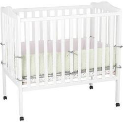 Delta Children Portable Mini Crib – White