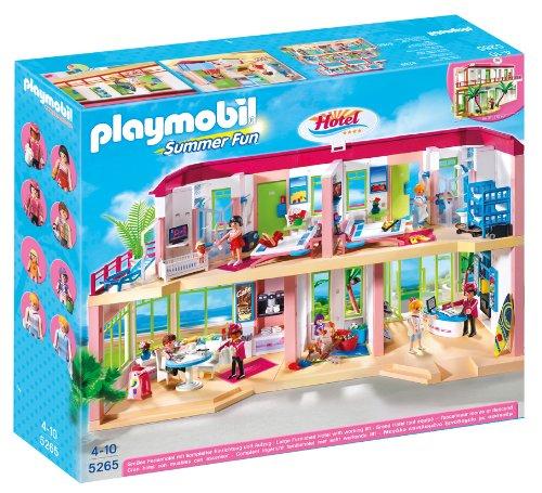playmobil large furnished hotel - PLAYMOBIL Large Furnished Hotel