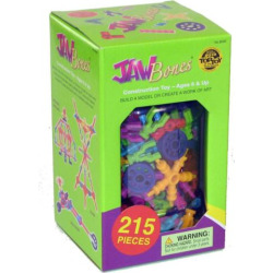 jawbones 215 pc construction toy set by be good company multicolor - Jawbones 215-pc. Construction Toy Set by Be Good Company, Multicolor