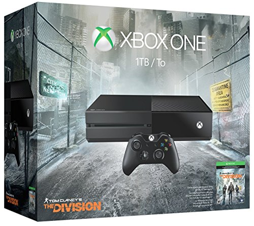 Xbox One 1TB Console – Tom Clancy's The Division Bundle
