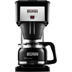 bunn velocity brew silver finish 10 cup coffee brewer black - Bunn® Velocity Brew® Silver Finish 10-Cup Coffee Brewer, Black