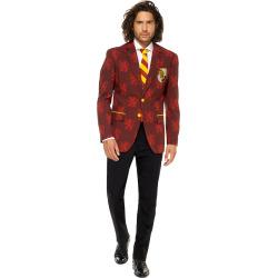 mens opposuits slim fit harry potter suit tie set size 52 reg red yellow - Men's OppoSuits Slim-Fit Harry Potter Suit & Tie Set, Size: 52 Reg, Red Yellow